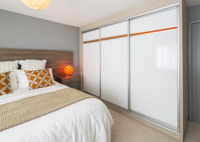 16 White glass with orange stripe low res