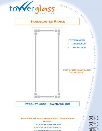 Designs on Letterheads Sandblast Range