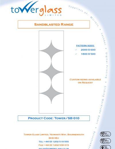 Designs on Letterheads Sandblast Range pg10