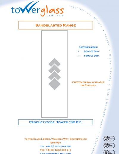 Designs on Letterheads Sandblast Range pg11