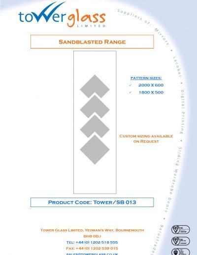 Designs on Letterheads Sandblast Range pg13
