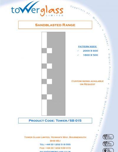 Designs on Letterheads Sandblast Range pg15