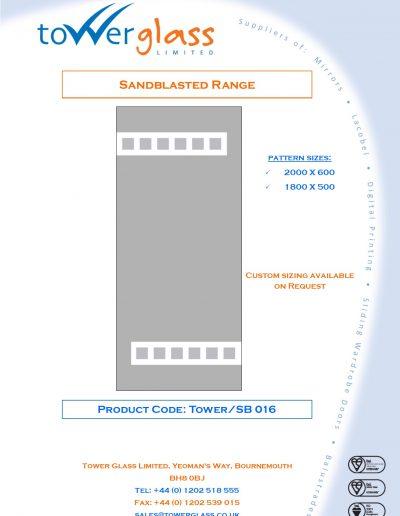 Designs on Letterheads Sandblast Range pg16