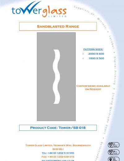 Designs on Letterheads Sandblast Range pg18