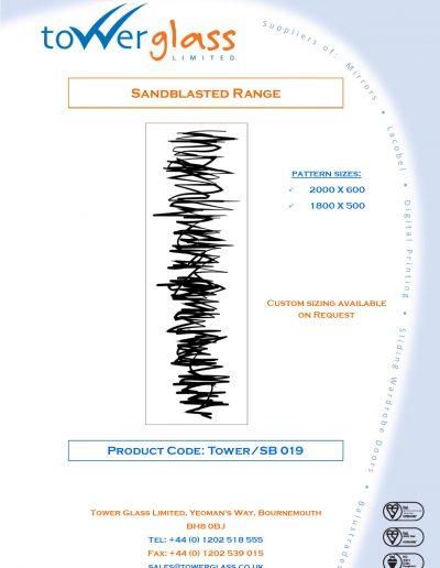 Designs on Letterheads Sandblast Range pg19