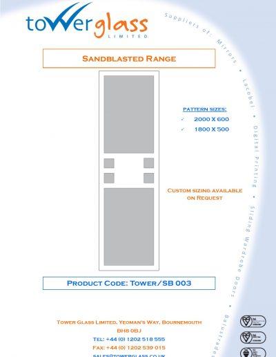 Designs on Letterheads Sandblast Range pg3