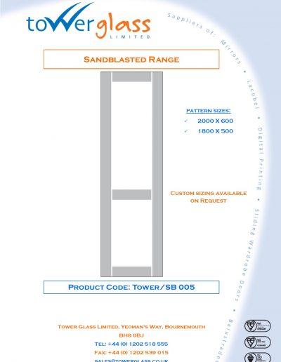 Designs on Letterheads Sandblast Range pg5