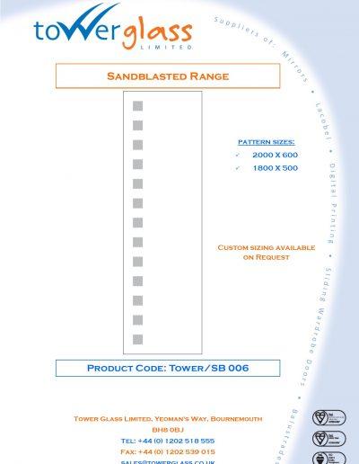 Designs on Letterheads Sandblast Range pg6