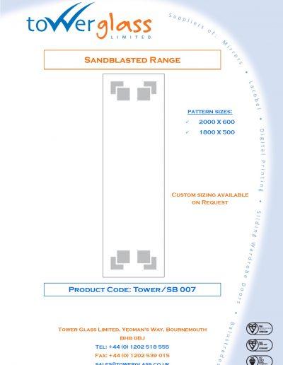 Designs on Letterheads Sandblast Range pg7
