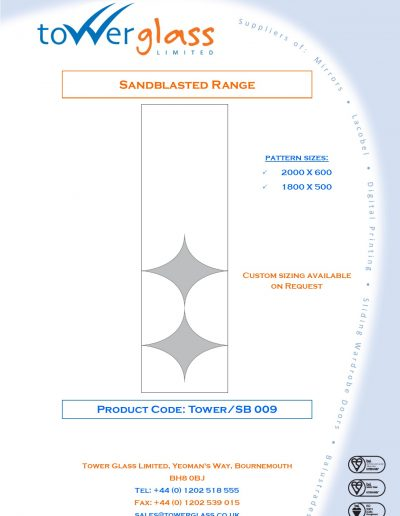 Designs on Letterheads Sandblast Range pg9
