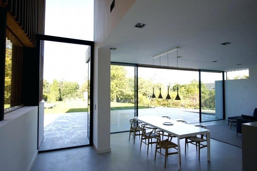 Floor To Ceiling Glass Wall Contemporary On