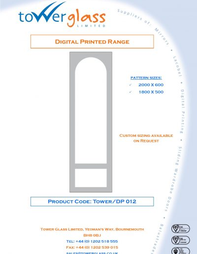 Designs on Letterheads Digi Print Tower 12
