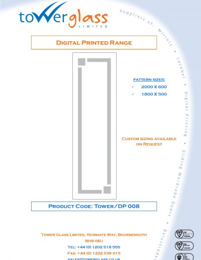 Designs on Letterheads Digi Print Tower 8