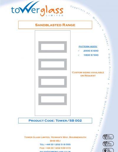 Designs on Letterheads Sandblast Range Pg2