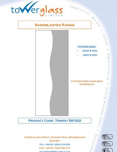Designs on Letterheads Sandblast Range pg22