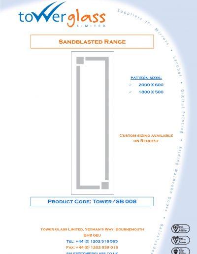 Designs on Letterheads Sandblast Range pg8