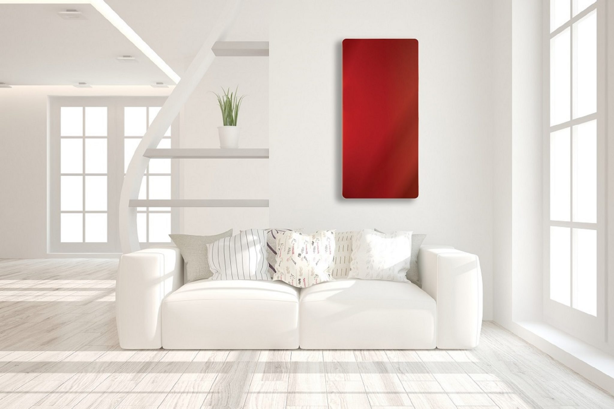 Colour Glass Infrared Heaters